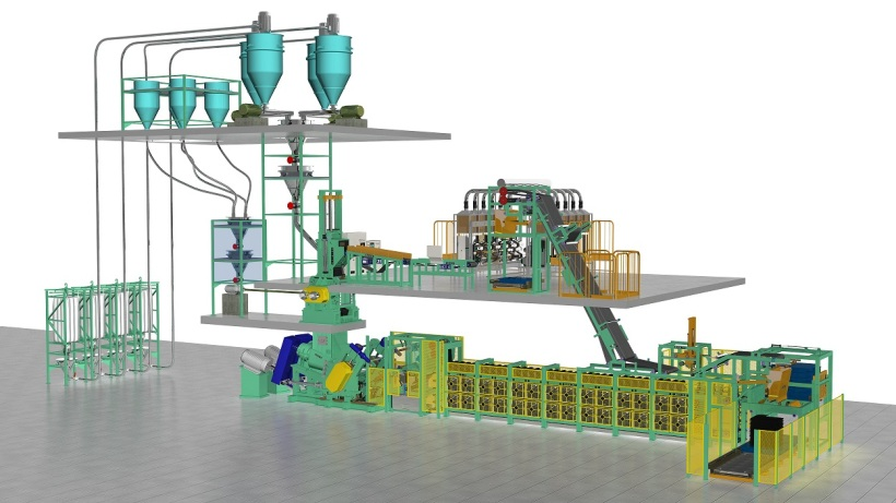Automated Mixing Line