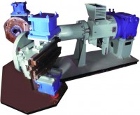 Hot Feed Extruder with Dual Head