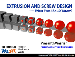 Extrusion And Screw Design