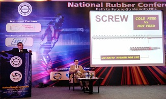 Prasanth Warrier speaking at NRC 2015 Mumbai