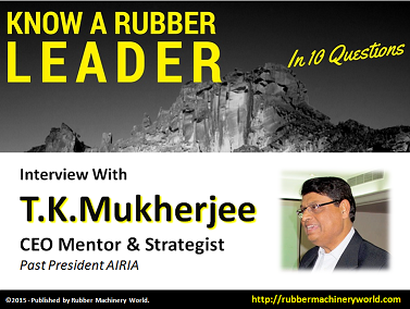 Know A Rubber Leader - T.K.Mukherjee