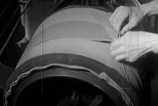 Tire Building in 1934