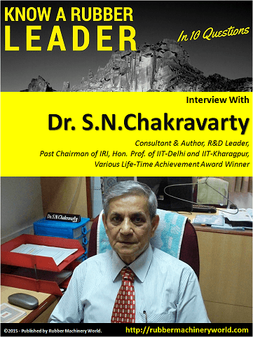 Know A Rubber Leader - Dr.Chakravarty