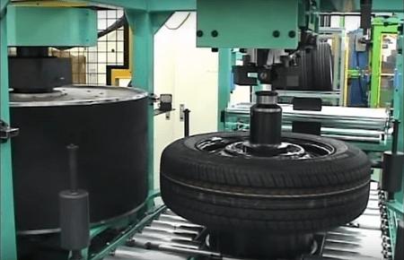 HSU Tyre Testing Machine