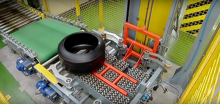 Green Tyre Automatic Warehouse_Uteco Contec